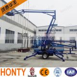 6-18m diesel power hot-selling lift axle for trailers/aerial work lift for sale