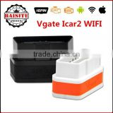 High quality Vgate iCar2 WiFi OBDII OBD2 ELM327 iCar 2 wifi car Diagnostic ELM 327 Interface For Android/ IOS/PC