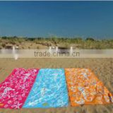 100% suede expanding compressed beach towel magic towel wholesale,bottle shape customized velour hand towels