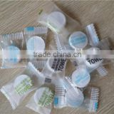 100% white travel disposable face and bath compress towel to round shape coin for traverling use