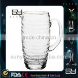 Mouth Blown Elegant Glass Antique Beer Jug                                                                         Quality Choice