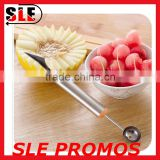 Custom Logo Melon Baller Fruit Scoop,Hot Wholesale Ice Cream Scoop Spoon,High Quality Multifunction Water Melon Kitchen Tools