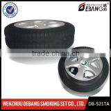 tyre shape custom made ashtray with lid