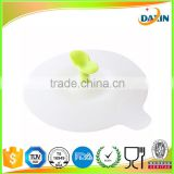 China Cheap Silicone Sapling Cup Cover Novelty Water Drinking Cup Mug's Lid Anti-dust