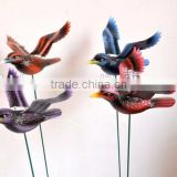 6 inch Crow Bird Plastic Flying Crow Garden Decoration, Crow Hunting Decoys,Oiseau en Plastique de Jardin Decoration