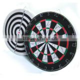 thick flocked dartboard