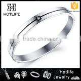 2016 best selling items couple jewelry 925 sterling silver wholesale expandable bangle