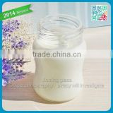 clear glass milk bottle tempered glass bottle without decal print designed shape wholesale glass bottle