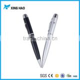 Excellent quality aluminium usb ballpoint pen with laser pointer free sample 2gb