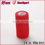 50mm Red Woven Elastic Flexible Sterile Surgical Self-adhesive Gauze Bandage                                                                         Quality Choice