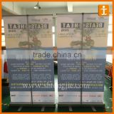 Photo printer series roll up display