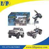 2015 New professional 1:10 2.4G four wheel drive RC crawler truck toy