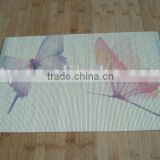 printed bamboo table mat