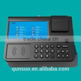 7'' Touch Screen android pos terminal with sim card android pos terminal with printer, inventory machine