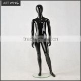 abstract gloss black kids children boy baby mannequin crawling