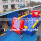 Hot sale inflatable human foosball court, inflatable foosball table                                                                         Quality Choice