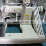 ATR-9280-D Three / Triple Needle Feed-off-the-arm Chain Stitch Sewing Machine with Outside Puller for Heavy Duty Stitching