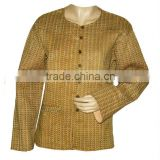Sublime Designer Indian Nice Look Block Printed Light Weight Cotton Quilted Jackets in india