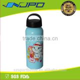 food grade material fda certificated stainless steel baby feeding bottle 500ml with logo
