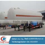 40CBM propane transport trailers lpg tanker trailers for sale