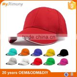 Promotion 100% Cotton Blank 6 Panel Baseball Cap And Hat PayPal Accepted                                                                         Quality Choice