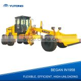 China Military Quality Of Mini Motor Grader For Sale With 132HP