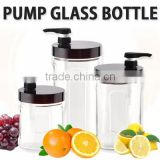 [WORLD LIVING]Pump glass bottle/ water bottle pump