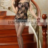 girls sheer nylon bodystocking