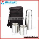 Stainless Steel thermos flask and mug cup gift set
