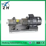 food grade vacuum emulsifier high shear mixer sanitary high shear pump mixer homogenizador machine of milk