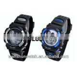 China fashion electronic brand analog digital wrist lcd watch