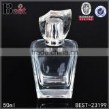 50ml cosmetic packaging custom empty glass perfume bottle with different size&color                                                                                                         Supplier's Choice