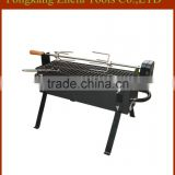 High quality Rotisserie motor BBQ Grill garden charcoal grill with motor