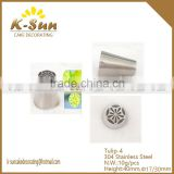 K-sun Russian Tulip Stainless Steel Icing Piping Nozzles Pastry Decorating Tips Cake Cupcake Decorator