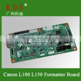 OEM Printer Parts Mainboard for Canon Lasejet L100 Formatter Board L100 Logic Card Spare Parts