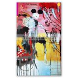 2016 Fashionable Oil Painting Abstract Art Canvas for sell #00001