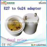 adapter e27 to g4 or gu10 to b22 lamp adapter or g9 to gu10 lamp adapter