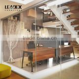 New Style Fused Glass Living Room Glass Partition Design