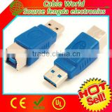 USB 3.0 type A to type B converter male to female adapter