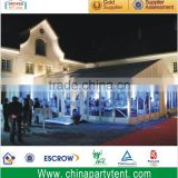 Large span glass wall transparent exhibition tent for sale