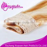 Best selling virgin human crochet hair extension remy human hair weave