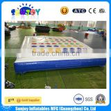 2016 Funny Outdoor Inflatable Twister Game For Kids Or Adults For Sale