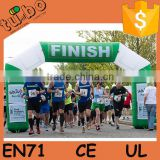 Cheap inflatable finish line arch / outdoor entrance arch designs / inflatable archway for sport