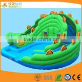 Ocean paradise inflatable bounce kids slides backyard inflatable water slide