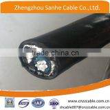 8000 Series aluminum alloy conductor armoured XLPE /PVC insulation concentric cable 2*6AWG+6AWG