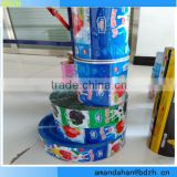 Shrink Sleeve / Bottle labels,plastic packaging film in roll for food ,food packaging film