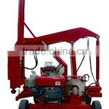 Highway Guard rail Hydraulic Pile driver dig for 3meter depth/construction machine/dig fundation machine