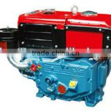 Single Cylinder R180N Small Diesel Engine For Walking Tractor/Power Tiller