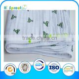 120*120cm Double Layers Gauze Blanket Gauze Swaddle