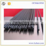 super low price high strength round carbon fiber poles made in Guangzhou factory hot sale